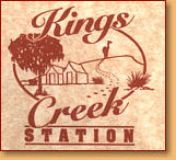 Kings Creek Station - Accommodation in Bendigo